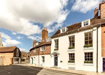 Thumbnail 4 bedroom terraced house for sale in West Pallant, Chichester, West Sussex
