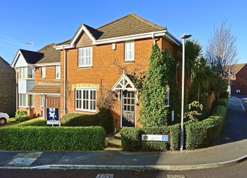 Thumbnail 3 bed detached house for sale in Carmel Close, Hamworthy, Poole