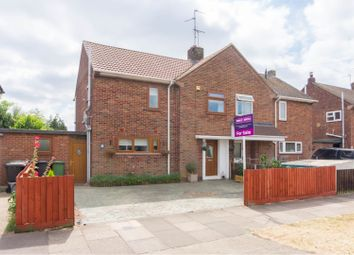 Thumbnail 3 bed semi-detached house for sale in Sycamore Avenue, Dogsthorpe, Peterborough