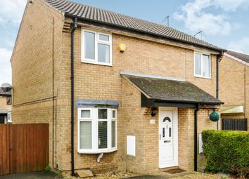 Thumbnail 2 bed semi-detached house for sale in Elm Close, Yaxley, Peterborough