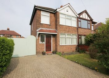 Thumbnail 3 bed semi-detached house for sale in Halsall Avenue, Warrington