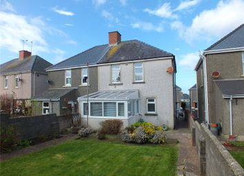 Thumbnail 3 bed semi-detached house to rent in Precelly Place, Milford Haven, Pembrokeshire