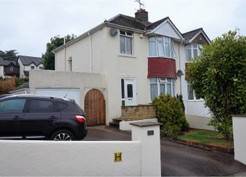Thumbnail 3 bed semi-detached house for sale in Banbury Park, Torquay