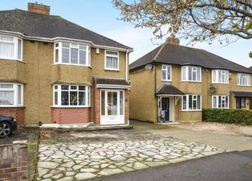 Thumbnail 3 bed semi-detached house for sale in Devon Way, Chessington, Surrey