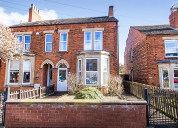 Thumbnail 4 bed semi-detached house for sale in Harrowby Road, Grantham
