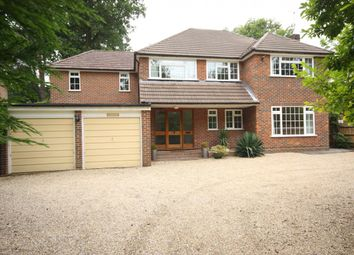 Thumbnail 4 bed detached house to rent in Onslow Crescent, Woking