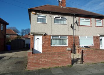 Thumbnail 3 bedroom semi-detached house for sale in Queens Gardens, Blyth