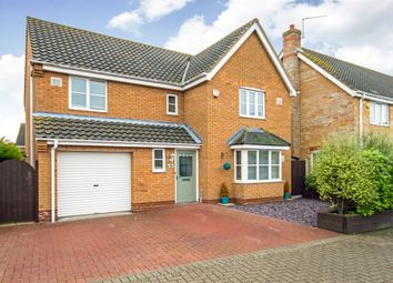 Thumbnail 4 bed detached house for sale in Rodber Way, Lowestoft