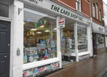 Thumbnail Retail premises for sale in High Street, Budleigh Salterton