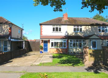 Thumbnail 2 bed semi-detached house for sale in New Haw, Surrey
