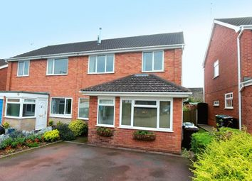 Thumbnail 3 bed semi-detached house for sale in Trinity Road, Eccleshall, Stafford