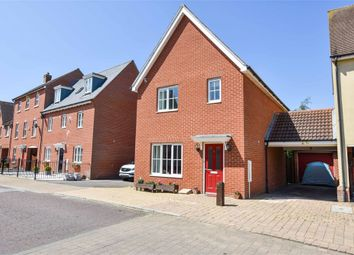 Thumbnail 3 bed detached house for sale in James Parnell Drive, Colchester, Essex