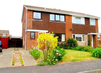Thumbnail 3 bed semi-detached house for sale in Springfield Way, Stubbington, Fareham