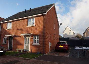 Thumbnail 2 bed semi-detached house to rent in Crossbill Road, Stowmarket