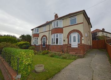 Thumbnail 4 bed semi-detached house for sale in Newlands Park Grove, Scarborough