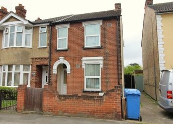 Thumbnail 3 bedroom semi-detached house for sale in Dover Road, East, Well Located, Ipswich