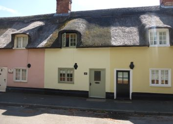 Thumbnail 2 bed cottage to rent in Malting Row, Honington, Bury St. Edmunds