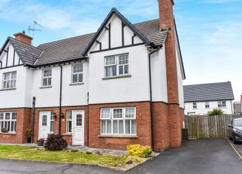 Thumbnail 3 bed semi-detached house for sale in Lisnisky Lodge, Portadown