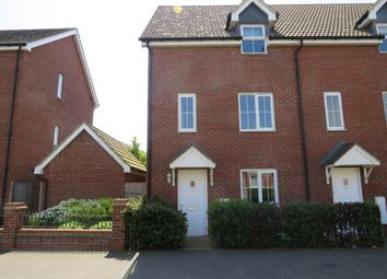 Thumbnail 4 bed end terrace house for sale in Fairway, Costessey, Norwich