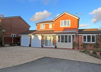 Thumbnail 4 bed detached house for sale in Carey, Hockley, Tamworth