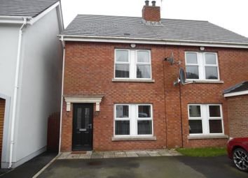 Thumbnail 2 bed semi-detached house to rent in Alderley Place, Newtownabbey