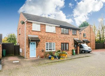 Thumbnail 3 bedroom semi-detached house for sale in Germander Place, Conniburrow, Milton Keynes, Bucks