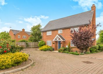 Thumbnail 4 bed detached house for sale in Forge End, Weston, Hitchin