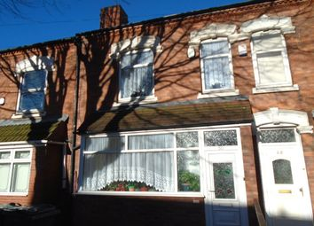 Thumbnail 3 bed terraced house for sale in Frederick Road, Stechford, Birmingham