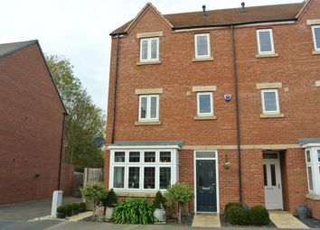 Thumbnail 4 bed semi-detached house for sale in Great Northern Gardens, Bourne, Lincolnshire