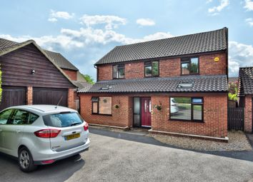 Thumbnail 4 bed detached house to rent in Norman Avenue, Bishop's Stortford