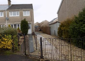 Thumbnail 3 bed semi-detached house for sale in Aneurin Crescent, Brynmawr