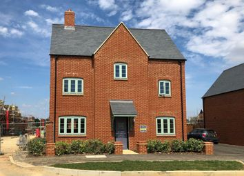 "Thumbnail 4 bedroom detached house for sale in ""Hexley"" at Halse Road, Brackley"