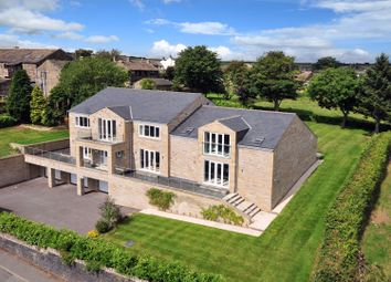 Thumbnail 5 bed detached house for sale in Church Lane, South Crosland, Huddersfield