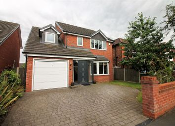Thumbnail 4 bed detached house for sale in Cornhill Road, Urmston, Manchester