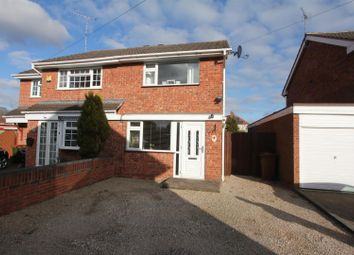 Thumbnail 2 bed semi-detached house for sale in Dale End Close, Hinckley