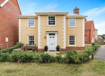 Thumbnail 4 bedroom detached house for sale in Castle Brooks, Framlingham, Woodbridge