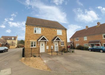 Thumbnail 2 bed semi-detached house for sale in Browning Close, Bromham