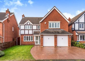 Thumbnail 4 bed detached house for sale in Burton Old Road, Streethay, Lichfield