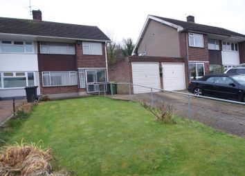 Thumbnail 3 bed semi-detached house for sale in Fairland Close, Rayleigh