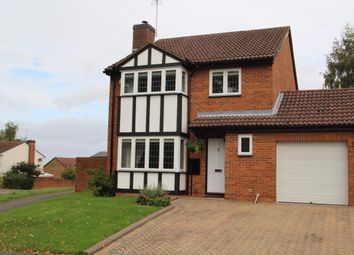 Thumbnail 4 bedroom detached house for sale in Wheeler Close, Burghfield Common