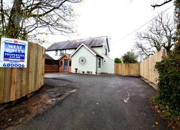 Thumbnail 4 bed cottage for sale in Cosheston, Pembroke Dock
