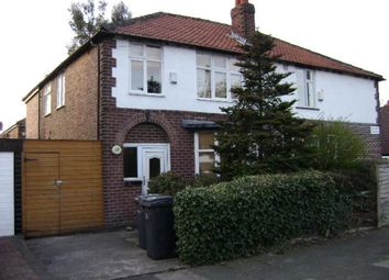 Thumbnail 1 bedroom property to rent in Heathside Road, Withington, Manchester