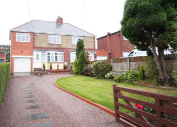 Thumbnail 3 bed semi-detached house for sale in Cross Lane, Sacriston, County Durham