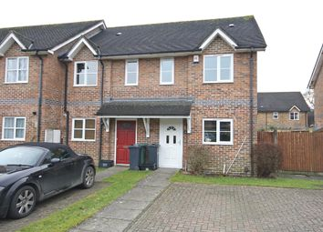 Thumbnail 2 bed end terrace house to rent in Norfolk Close, Horley, Surrey