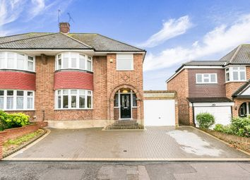 Thumbnail 3 bed semi-detached house to rent in Coolgardie Avenue, Chigwell