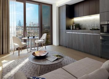 Thumbnail 1 bed flat for sale in South Bank Place, London