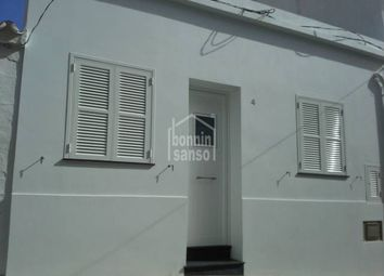 Thumbnail 3 bed town house for sale in Fornells (Pueblo), Mercadal, Balearic Islands, Spain