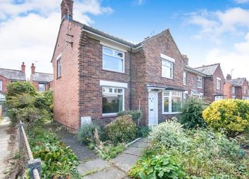 Thumbnail 3 bed end terrace house for sale in Saxon Street, Wrexham, Wrecsam