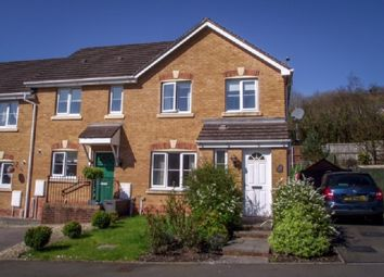 Thumbnail 3 bed end terrace house for sale in Cwrt Pant Yr Awel, Lewistown, Bridgend.