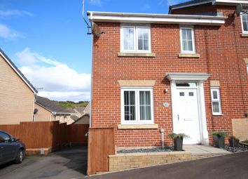 Thumbnail 3 bed semi-detached house for sale in Woodside Drive, Newbridge, Newport